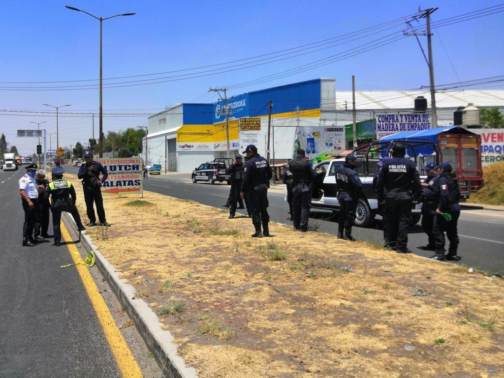 Policías de Papalotla