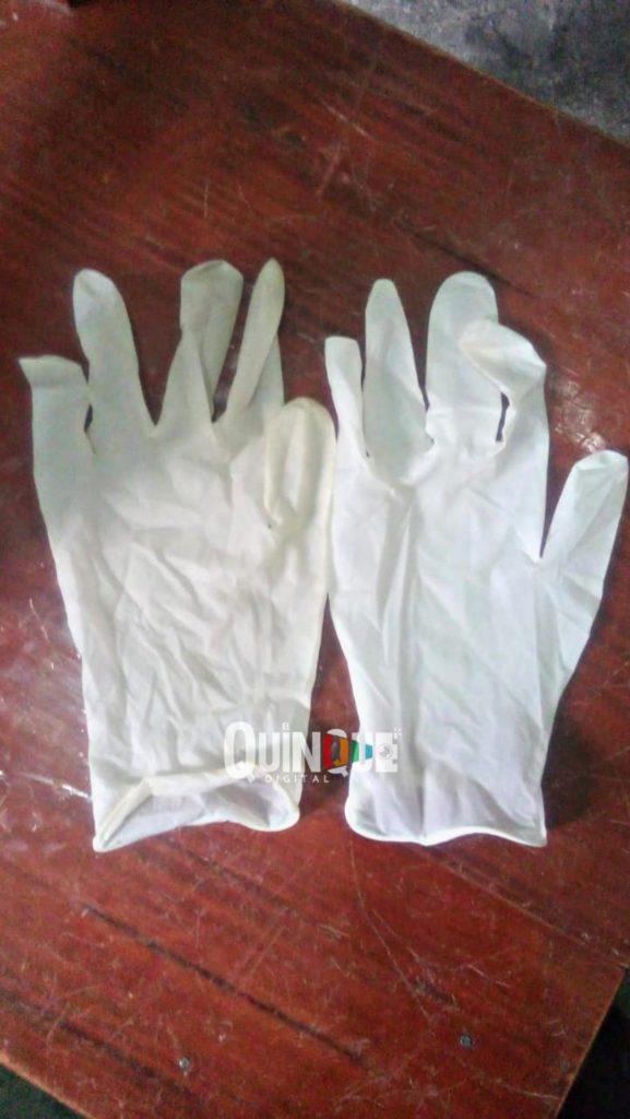 Guantes entregados a policías de Papalotla